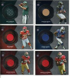 (31) 2013 TOPPS CHROME ROOKIE RELIC CARDS
