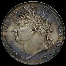 More details for 1820 george iv milled silver half crown