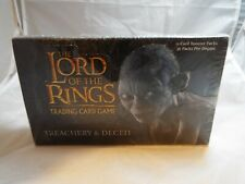 LORD OF THE RINGS TCG TREACHERY & DECEIT SEALED BOOSTER BOX OF 36 PACKS