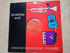 Ella Fitzgerald Lady Of Jazz Austria 50s Mono LP Donauland Label