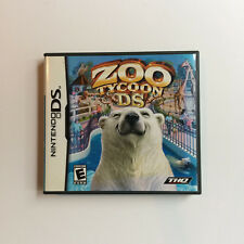 Zoo Tycoon DS (Nintendo DS, 2005) complete CIB video game