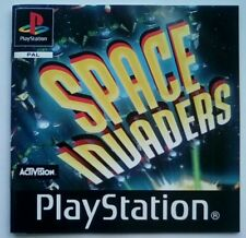 *INSTRUCTIONS ONLY* Space Invaders Manual  PS1 PSOne Playstation