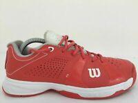 Wilson Rush Sport WRS318050 Orange Synthetic Trainer Unisex Size UK 7.5 Eur 41