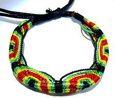 Bracelet brésilien Rasta Reggae Bob Marley Jamaique Friendship ajustable Amitié