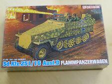 Dragon 1:35 Sd.Kfz.251/16 Ausf.D Flammpanzerwagen #6247 Model Kit NEW Halftrack