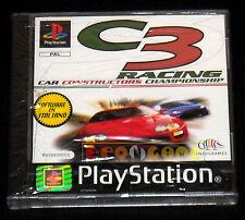 C3 RACING Ps1 Versione Europea ••••• NUOVO SIGILLATO