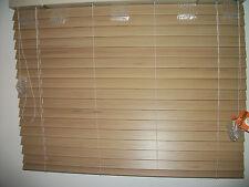 "2 BRAND NEW Custom made LEVOLOR custom window blinds. 40""w x 30"" tall. NU-WOOD"
