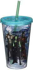 Guardians of the Galaxy -Vandor Marvel -18 oz Acrylic Travel Cup w/Lid and Straw