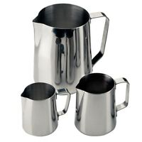 Milk Frothing Foaming Jug 330ml/ 12oz Restaurant Cafe Catering kitchen Conical