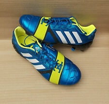 ADIDAS NITROCHARGE 1.0 SG FOOTBALL BOOTS>BRAND NEW>£150>7uk>BLUE WHITE ELECTRIC>