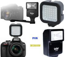 PRO FLASH + 36 LED LIGHT FOR NIKON DSLR D3000 D3100 D3300 D5000 D5100 D5200 D40
