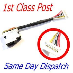 HP Probook 430 440 450 470 G5 G6 G7 Dc Jack Charging Port Power 853905-S7A 7CM