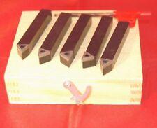 Satz 5 Drehwerkzeug Werkzeug 5/16 Quadrat kompatibel mit Myford Drehmaschine