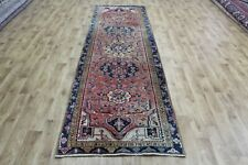 Antique Handmade Persian Heriz Runner very hard wearing 332 x 100 cm