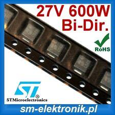 SM6T27CA TVS Diode Bidirectional  27V 600W  [QTY=50pcs]