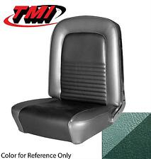 1967 Mustang Convertible Front Rear Seat Upholstery Turquoise TMI Ready TO Ship!