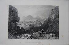 Original Grafiken & Drucke aus Griechenland mit Stahlstich-Technik von 1800-1899