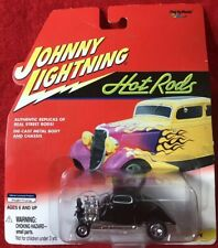 JOHNNY LIGHTNING HOT RODS ~ 1934 Ford Coupe ~ 1/64 Diecast