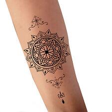 Tatuaggi temporanei Adesivo del tatuaggio Datura Totem