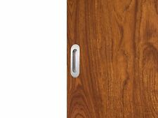 Stainless Steel Wood Sliding Door Handle Oval Flush Recessed Pull Hardware Part
