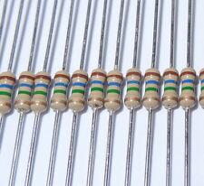 5 pcs 510 ohm 1/4W 5% Carbon Film Resistors. (ask me for other quantities).