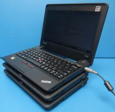 LOT OF 3 Lenovo ThinkPad X131e Laptop AMD E2-1800@1.7GHz 4GB 250GB HD NO/BATTERY
