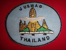 Vietnam War Patch Us Air Force Jusmag Team In Korat Rtafb Thailand