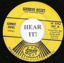 Cowboy Copas HILLBILLY 45 (Starday 621) Goodbye Kisses/The Gypsy Girl  VG++/M-