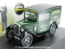 AUSTIN SEVEN 7 RN MODEL VAN LIPTONS 1/43RD SCALE OXFORD PACKAGED ISSUE K8967Q~#~