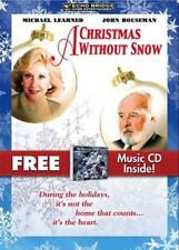 A Christmas Without Snow, Michael Learned, John Houseman, FREE CD New Sealed