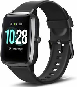 Letsfit Smart Watch ID205L, Fitness Tracker with Heart Rate Monitor