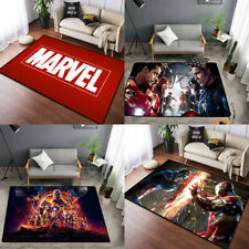 Marvel Avengers Kids Bedroom Bathroom Mats Carpet Floor Rug Door Mat Non Slip