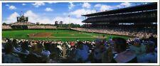 Bill Goff Art Postcard Wrigley Field Matinee CHICAGO CUBS 1990