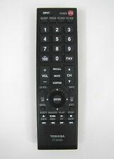 Toshiba CT-90325 LCD TV Remote 50L2200U 37E20 22AV600 40FT1U 32C120U 46G3DU1