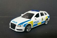 Siku Audi A4 Avant 3.0 TDI Polis exclusiv Schweden!