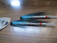 2 V Fly 2 Inch Aluminium Elver Snake Salmon Tube Flies & Hooks