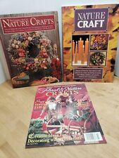 Lot Of 3 Nature Crafts Books