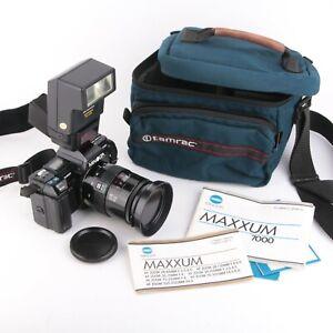 Minolta Maxxum 7000 35mm Camera + Minolta AF 28-85mm f3.5 Lenz   Japan   Tested