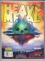 Heavy Metal Magazine #295 B 2019 Music Special Satriani Corben VF+ 1977 Series