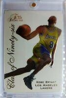1996 96 Flair Showcase Class of Ninety-six Kobe Bryant Rookie RC #4, Insert