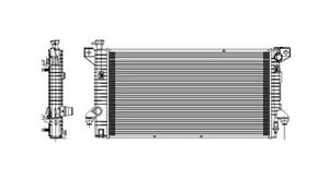 NEW RADIATOR FITS 2009-2010 FORD F150, EXPEDITION