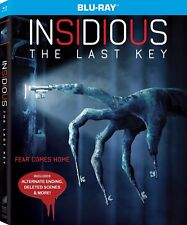 INSIDIOUS THE LAST KEY(BLU-RAY+DIGITAL HD)W/SLIPCOVER NEW UNOPENED