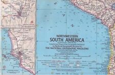 national geographic map-FEB 1964-NORTWESTERN SOUTH AMERICA.