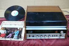 More details for vintage hitachi 351 music centre vintage 1970s record player turntable radio amp