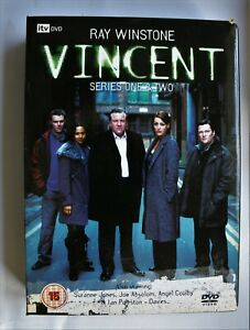 Vincent - Series 1 And 2 Box Set (DVD, 2006, 4-Disc Set, Box Set)