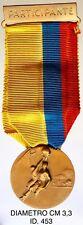 """Pasto Colombia Campeonato Nacional de Basquetbol dicembre 1963 medaglia """"453"""""""