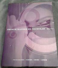 Prince Randee St Nicholas 21 Nights Photos Poetry Music Atria H/C Book Cd Slipcs