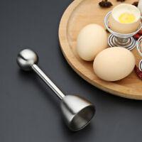 Creative Egg Shell Topper Cutter Remover Stainless Steel Egg Opener Separator