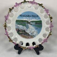 Niagara Falls Prospect Point Souvenir Plate Made In Japan 7 Inch