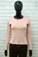 Maglia Donna WOOLRICH Taglia Size XS Maglietta Shirt Woman Elastico Manica Lunga